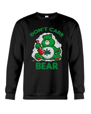 Cannabis Don't Care Bear Shirt Crewneck Sweatshirt thumbnail