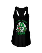 Cannabis Don't Care Bear Shirt Ladies Flowy Tank tile