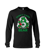 Cannabis Don't Care Bear Shirt Long Sleeve Tee tile