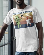 Vintage I'm Your Father Shirt Classic T-Shirt apparel-classic-tshirt-lifestyle-front-39