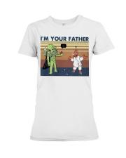 Vintage I'm Your Father Shirt Premium Fit Ladies Tee thumbnail