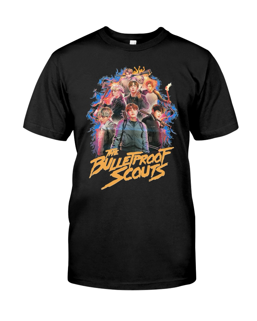 Bts The Bullet Proof Scouts Shirt Premium Fit Mens Tee