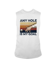 Vintage Any Hole Is My Goal Shirt Sleeveless Tee thumbnail