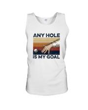 Vintage Any Hole Is My Goal Shirt Unisex Tank thumbnail