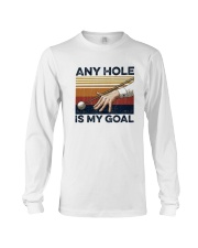 Vintage Any Hole Is My Goal Shirt Long Sleeve Tee thumbnail