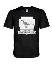 Effin  Birds Dont Be A Racist Piece Of Shit Shirt V-Neck T-Shirt thumbnail