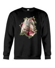 Rose White Dragon Shirt Crewneck Sweatshirt thumbnail