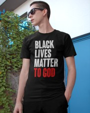 Black Lives Matter To God Shirt Classic T-Shirt apparel-classic-tshirt-lifestyle-17