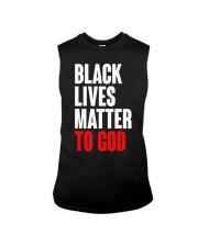 Black Lives Matter To God Shirt Sleeveless Tee thumbnail