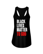 Black Lives Matter To God Shirt Ladies Flowy Tank thumbnail