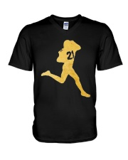 Prime Celebration Metallic Shirt V-Neck T-Shirt thumbnail