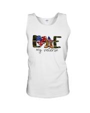 American Flag Love My Veteran Shirt Unisex Tank thumbnail