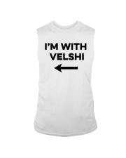 I'm With Velshi Shirt Sleeveless Tee thumbnail