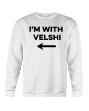 I'm With Velshi Shirt Crewneck Sweatshirt thumbnail