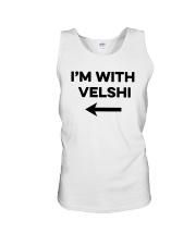 I'm With Velshi Shirt Unisex Tank thumbnail