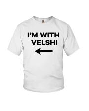 I'm With Velshi Shirt Youth T-Shirt thumbnail