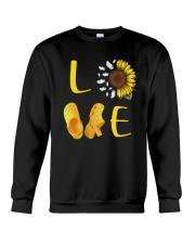 Sunflower Crocs Love Shirt Crewneck Sweatshirt thumbnail