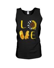 Sunflower Crocs Love Shirt Unisex Tank thumbnail