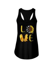 Sunflower Crocs Love Shirt Ladies Flowy Tank thumbnail