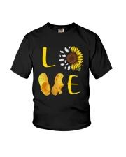 Sunflower Crocs Love Shirt Youth T-Shirt thumbnail