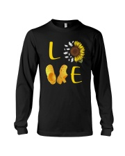 Sunflower Crocs Love Shirt Long Sleeve Tee thumbnail