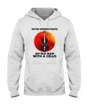 Never Underestimate An Old Man With A Cello Shirt Hooded Sweatshirt thumbnail