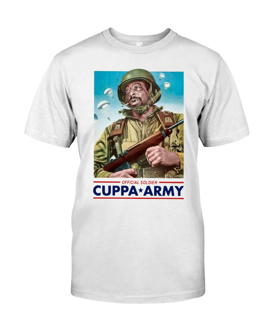 Official Soldier Cuppa Army Shirt Classic T-Shirt