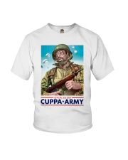 Official Soldier Cuppa Army Shirt Youth T-Shirt thumbnail