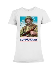 Official Soldier Cuppa Army Shirt Premium Fit Ladies Tee thumbnail