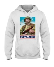 Official Soldier Cuppa Army Shirt Hooded Sweatshirt thumbnail