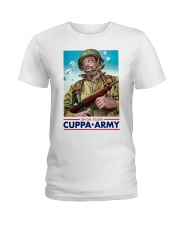 Official Soldier Cuppa Army Shirt Ladies T-Shirt thumbnail