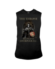 The Throne Belongs To Liverpool Fc Shirt Sleeveless Tee thumbnail
