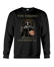 The Throne Belongs To Liverpool Fc Shirt Crewneck Sweatshirt thumbnail