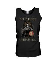 The Throne Belongs To Liverpool Fc Shirt Unisex Tank thumbnail