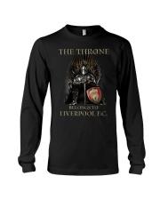 The Throne Belongs To Liverpool Fc Shirt Long Sleeve Tee thumbnail