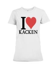 I Love Kacken Shirt Premium Fit Ladies Tee thumbnail