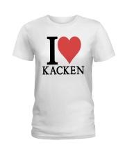 I Love Kacken Shirt Ladies T-Shirt thumbnail