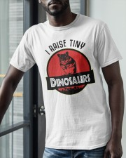 Mouse I Raise Tiny Dinosaurs Shirt Classic T-Shirt apparel-classic-tshirt-lifestyle-front-39