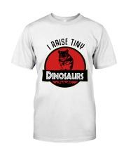 Mouse I Raise Tiny Dinosaurs Shirt Classic T-Shirt front