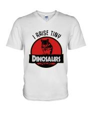 Mouse I Raise Tiny Dinosaurs Shirt V-Neck T-Shirt thumbnail