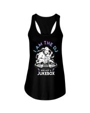 I Am The Dj And Not A Jukebox Shirt Ladies Flowy Tank thumbnail