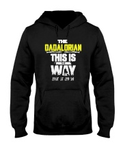Father's Day The Dadalorian This Is The Way Shirt Hooded Sweatshirt thumbnail