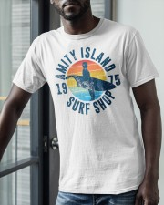 Vintage Amity Island Surf Shop 1975 Shirt Classic T-Shirt apparel-classic-tshirt-lifestyle-front-39