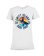 Vintage Amity Island Surf Shop 1975 Shirt Premium Fit Ladies Tee thumbnail