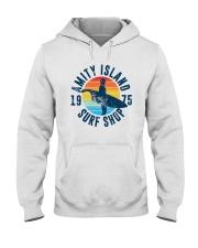 Vintage Amity Island Surf Shop 1975 Shirt Hooded Sweatshirt thumbnail