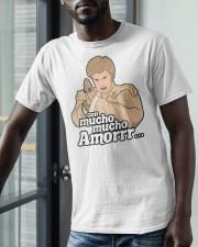 Con Mucho Mucho Amor Shirt Classic T-Shirt apparel-classic-tshirt-lifestyle-front-39