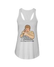 Con Mucho Mucho Amor Shirt Ladies Flowy Tank thumbnail