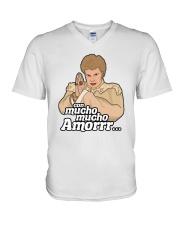 Con Mucho Mucho Amor Shirt V-Neck T-Shirt thumbnail