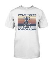 Vintage Sweat Today Smile Tomorrow Shirt Premium Fit Mens Tee thumbnail