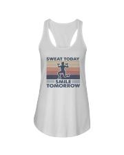 Vintage Sweat Today Smile Tomorrow Shirt Ladies Flowy Tank thumbnail